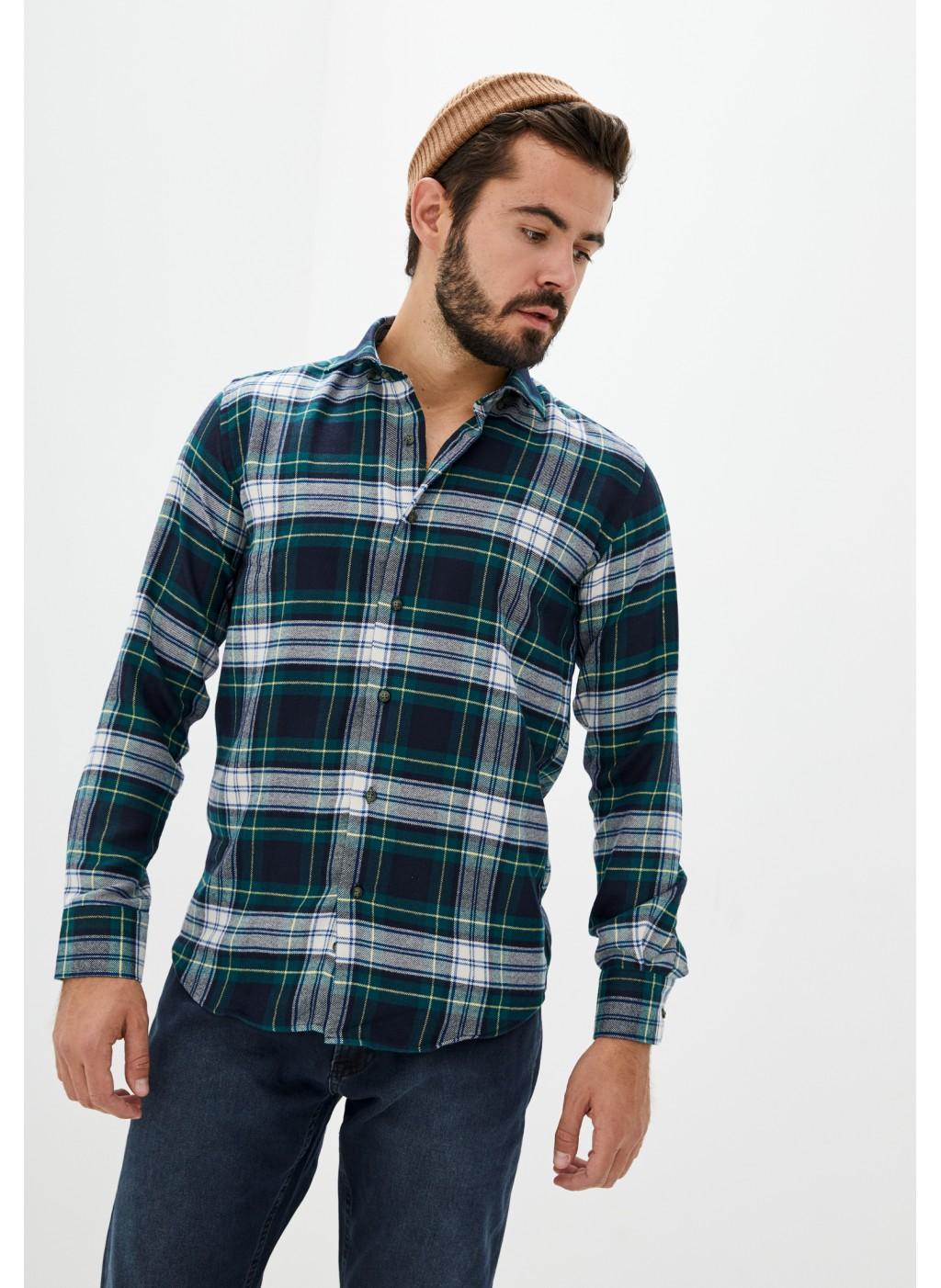 Рубашка NAVI Stupinigi  green