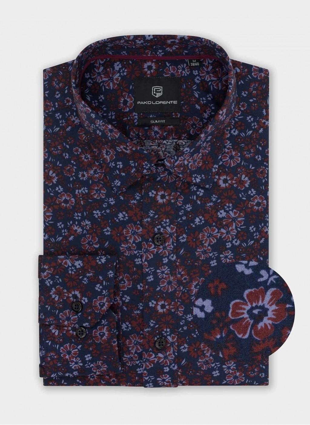 Рубашка TELDE P20SF-1X-019-G