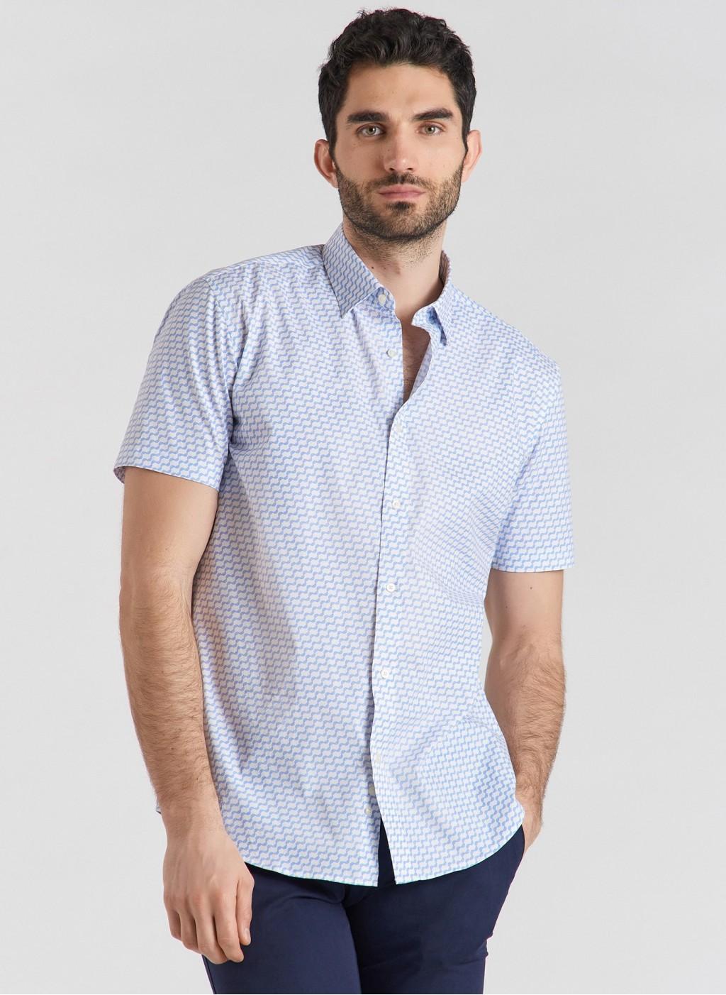 Рубашка P21SF-1K-010-B