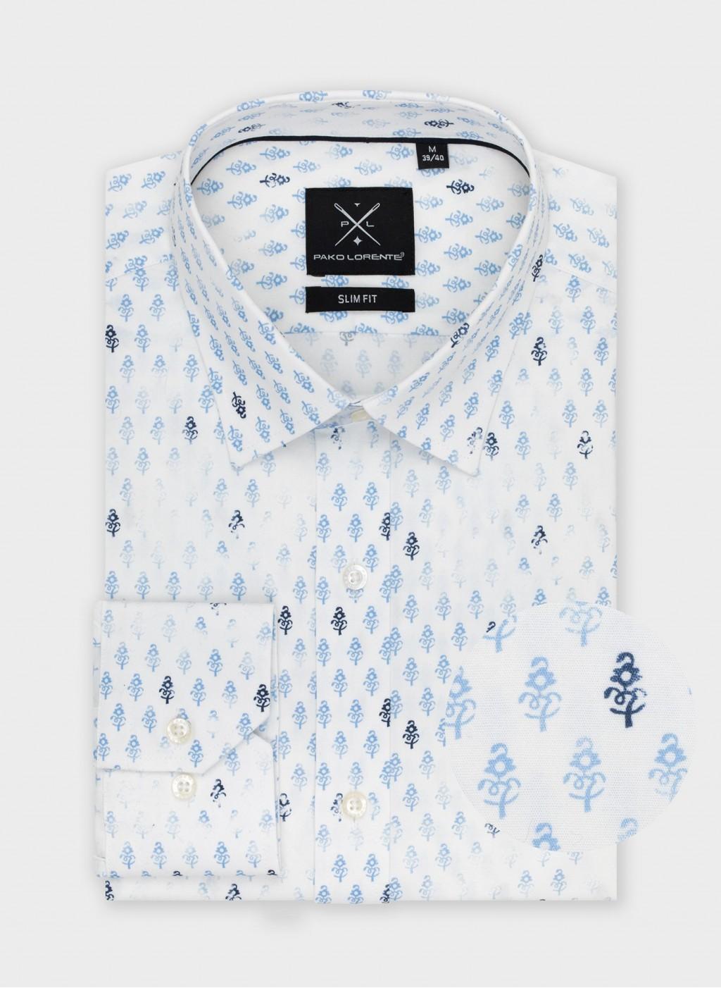 Рубашка P21SF-1X-118-B