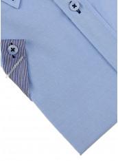 Сорочка блакитна