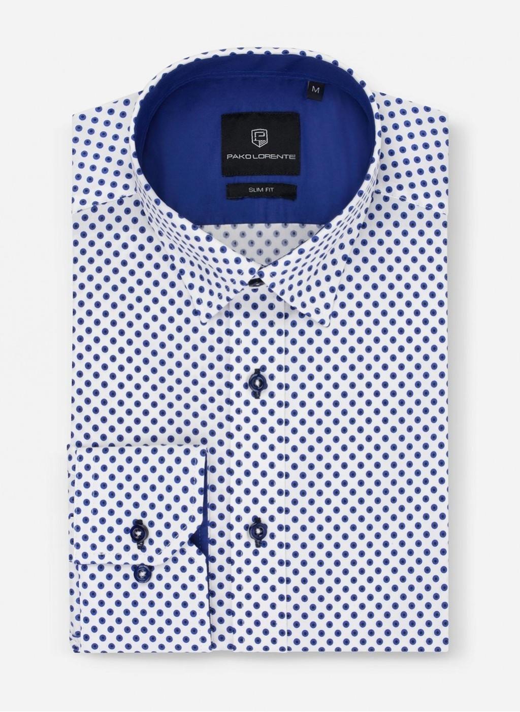 Рубашка Dark Blue Peas