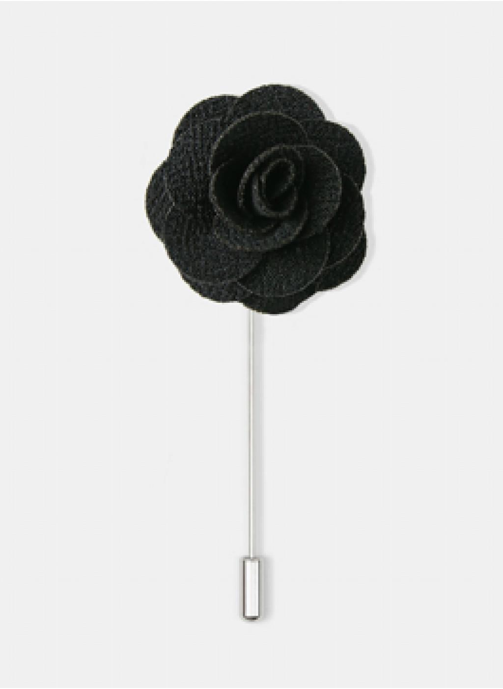 Булавка Black Flower